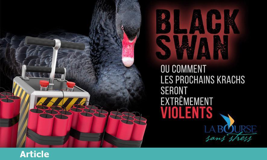 Le cygne noir version «fou de Bassan» ou comment les prochains krachs seront extrêmement violents.